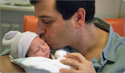 El cuidado de su beb al nacer nacersano for Tablero del deco del sitio del bebe